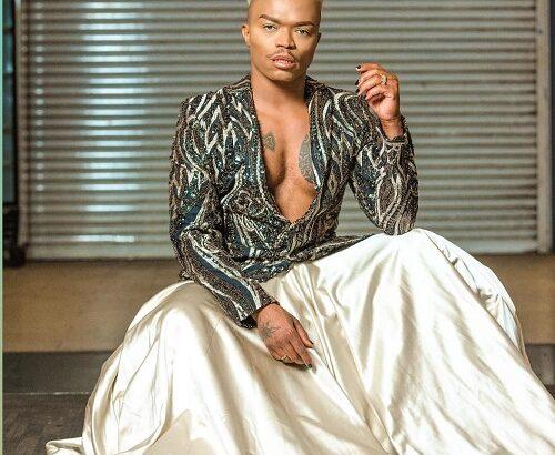 Somizi Mhlongo outfit