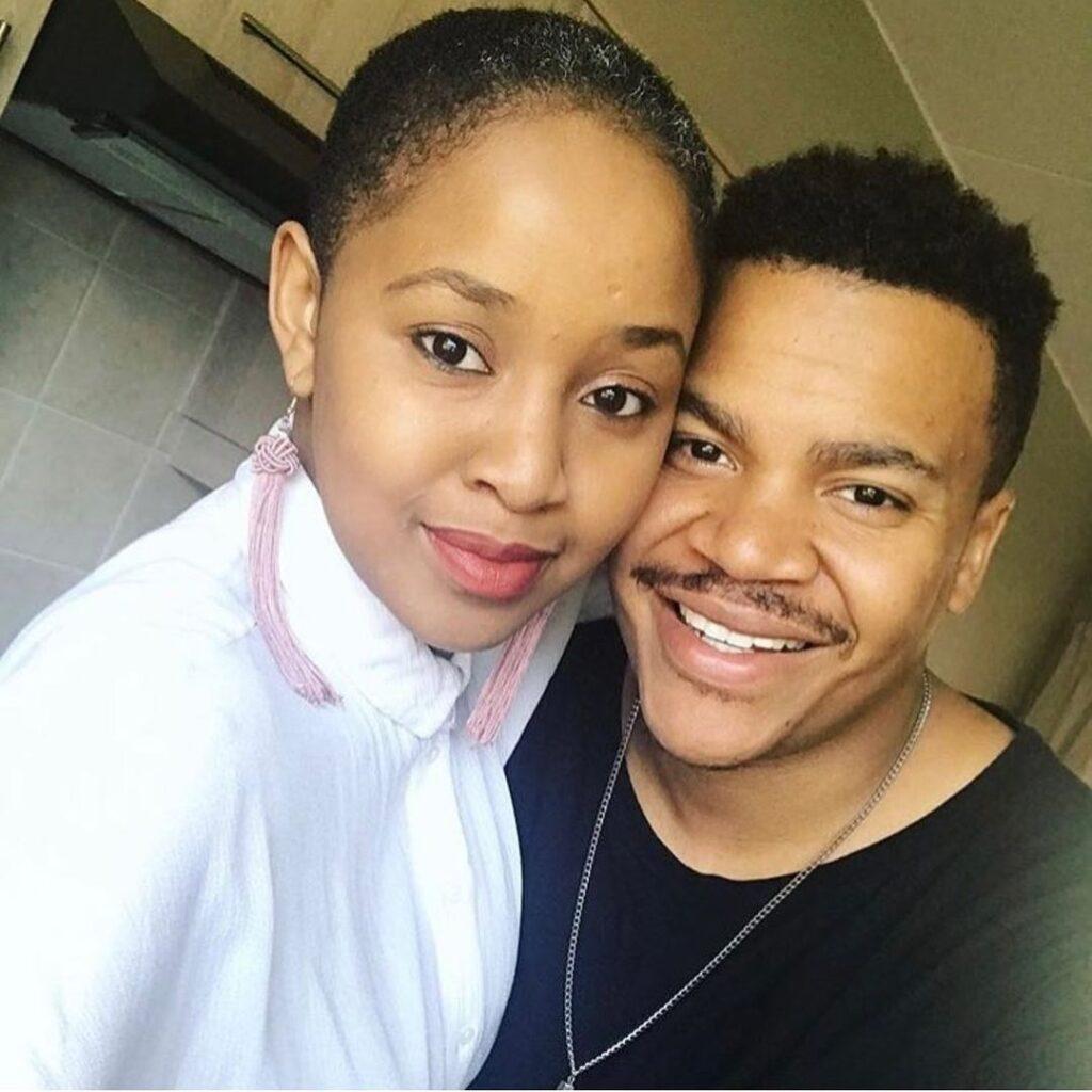 Mpoomy Ledwaba husband
