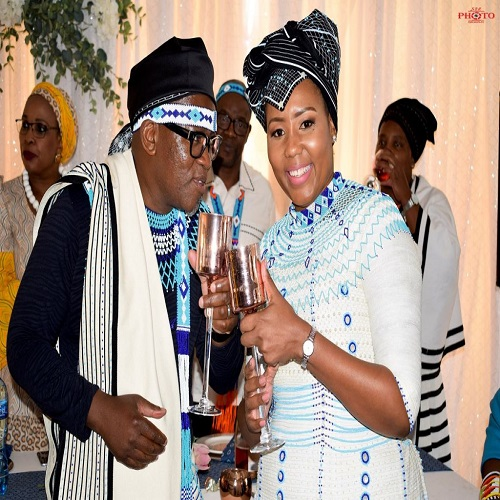 Vuyo Mvoko wife