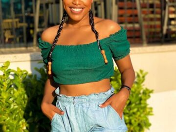 Natasha Thahane education