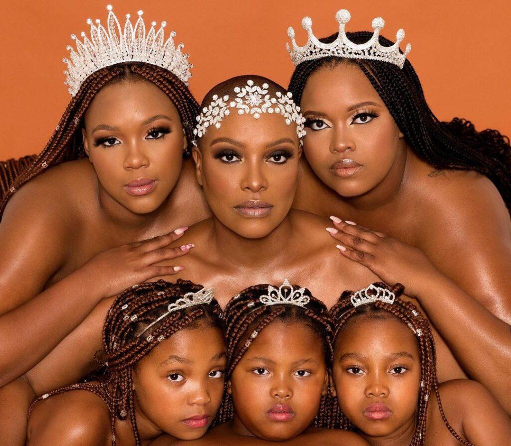 Zandi Nhlapo daughters