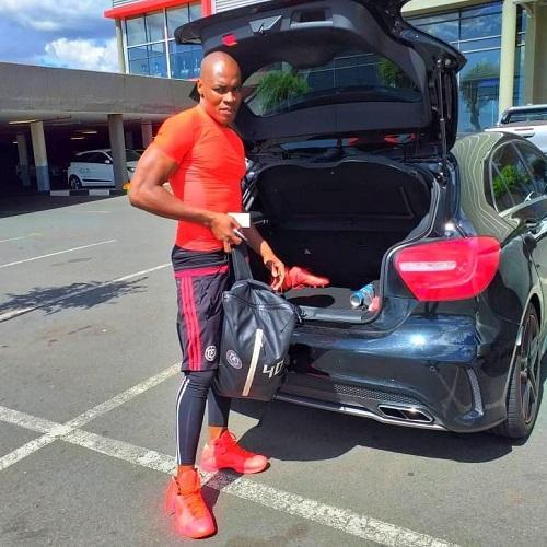 Siyabonga Mpontshane car