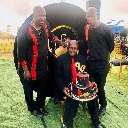 Menzi Ngubane father