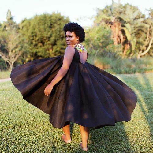 Gugu Gumede gown