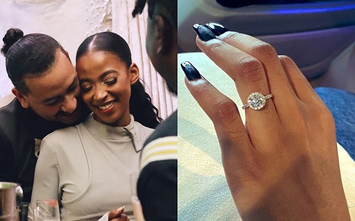 Nelli Tembe is Engaged
