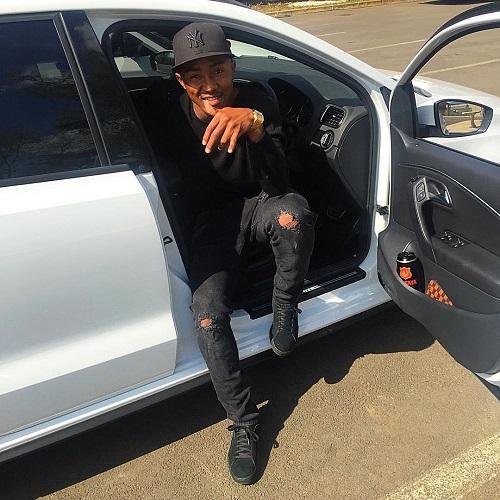 Lebohang Maboe car