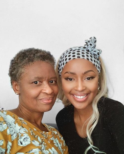 Kamo Modisakeng mother