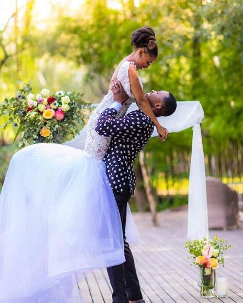 Wiseman Zitha wedding snaps