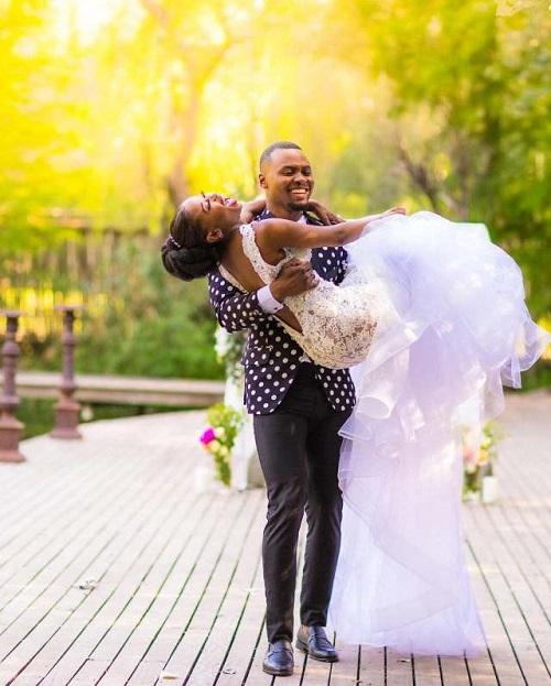 Wiseman Zitha wedding picture