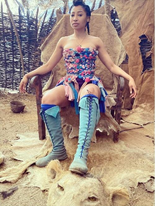 Enhle Mbali fashion