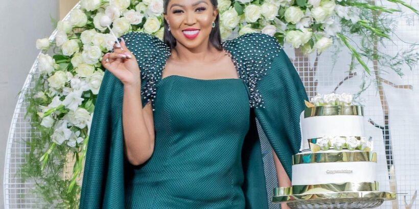 Ayanda Ncwane dress