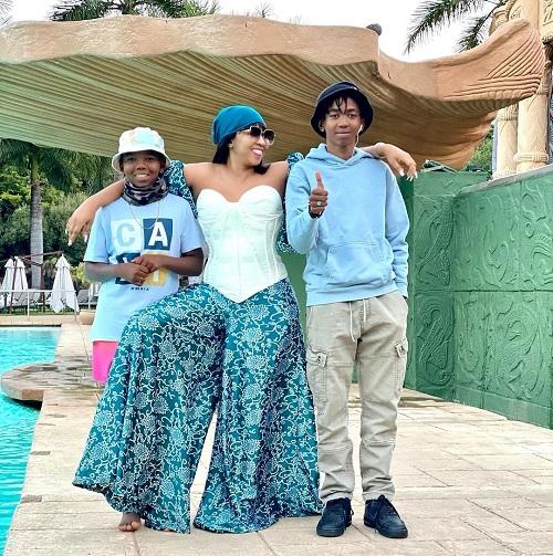 Ayanda Ncwane family
